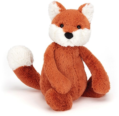Jellycat Peluche Bashful Renard Chiot Medium 31cm