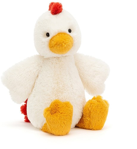 Jellycat Bashful Poulet Medium - 31cm