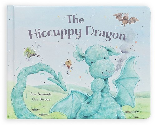 Jellycat The Hiccuppy Dragon - 18cm