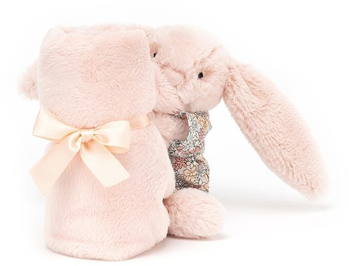 Jellycat Bedtime Blossom Rose Lapin Doudou - 34cm