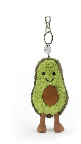 Jellycat Amuseable Avocado Sac à dos Charm - 28cm