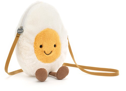 Jellycat Amuseable Happy Boiled Egg Bag - 30x18cm