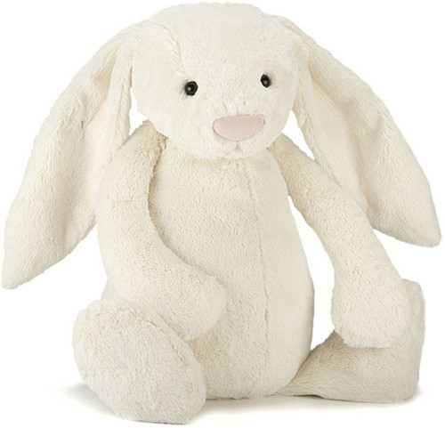 Jellycat  Bashful Cream Lapin GRAND - 67 cm