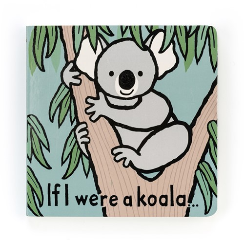 Jellycat If I were a Koala Book - 15x15cm