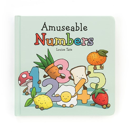 Jellycat Amuseable Numbers Book - 17cm