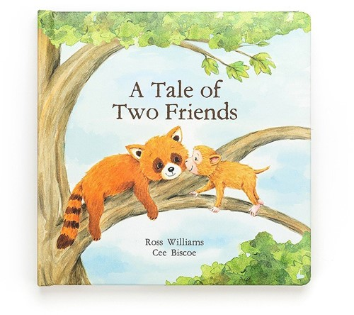 Jellycat Livre (Anglais) The Tale Of Two Friends - 23cm