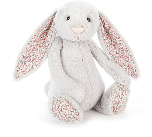 Jellycat Blossom Argent Lapin Grand - 36cm