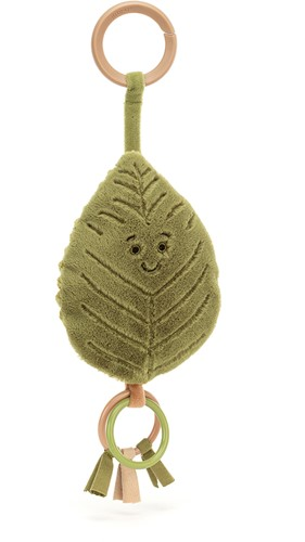 Jellycat Woodland Beech Leaf Ring Toy - 16cm