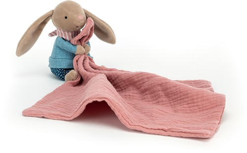 Jellycat Little Rambler Bunny Soother - 30x13cm